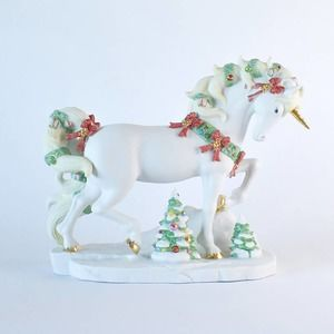 Lenox 2011 Yuletide Splendor Christmas Unicorn